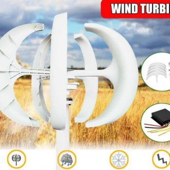 Vertical wind turbine with MPPT Ireland