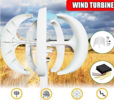 Vertical wind turbine with MPPT Ireland
