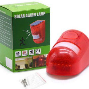 Wind and Sun PIR Remote Alarm
