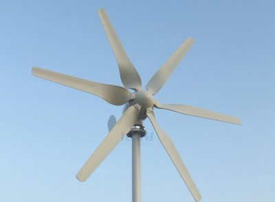 Low voltage wind turbines