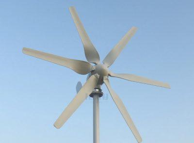 Low voltage wind turbines